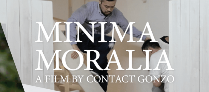 Film screening – contact Gonzo: Minima Moralia